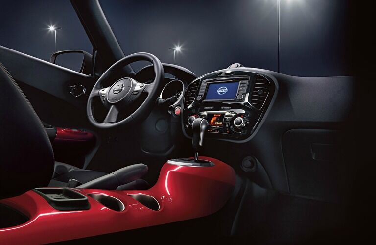 interior and technology nissan juke