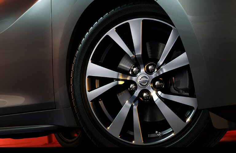 polished alloy wheels nissan maxima