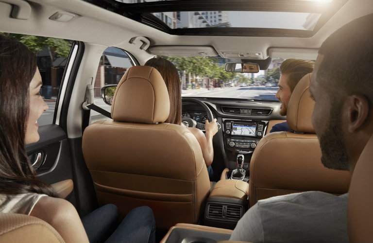 2017.5 Nissan Rogue Optional Panoramic Sunroof