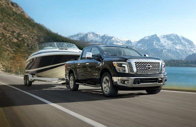 2017 Nissan Titan Max Towing