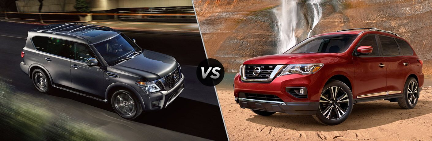 The 2017 Nissan Armada Vs Pathfinder Is One Comparisson In Which Both Parties Come Out On Top Are Beloved Models And Can