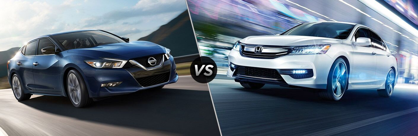 2017 Nissan Maxima vs 2017 Honda Accord