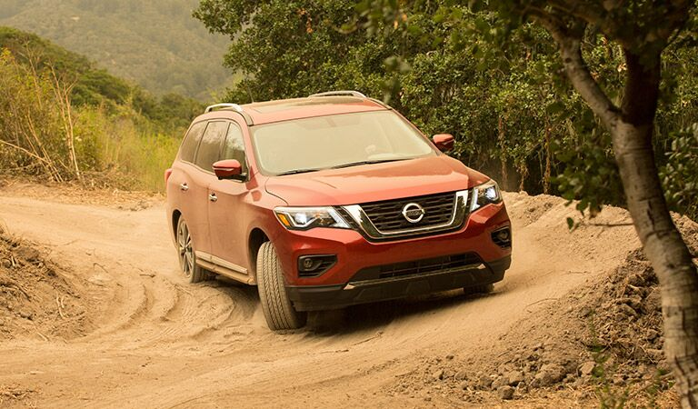 2017 Nissan Pathfinder S Dirty