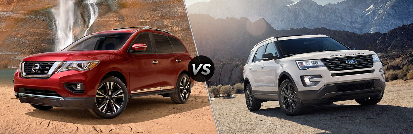 2017 Nissan Pathfinder vs 2017 Ford Explorer