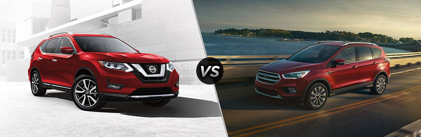 2017 Nissan Rogue vs 2017 Ford Escape