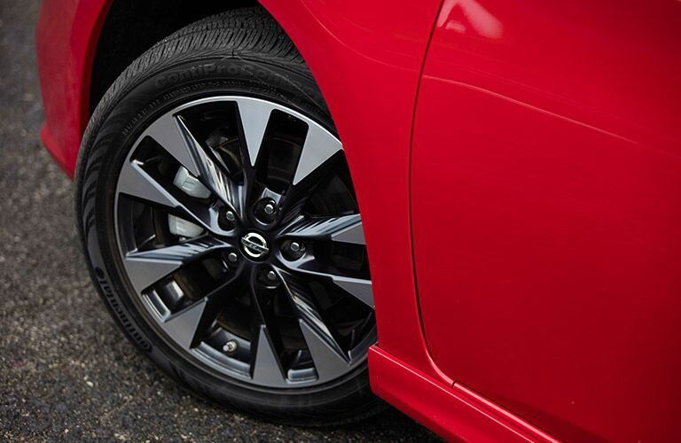 wheels of nissan sentra
