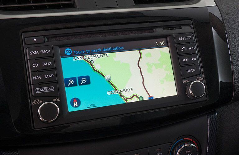 navigation system in nissan sentra