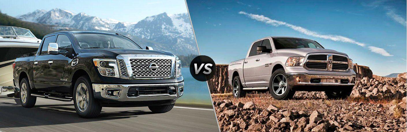 2017 Nissan Titan vs 2017 Ram 1500