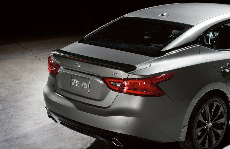 2017 Nissan Maxima SR Midnight Edition Trunk