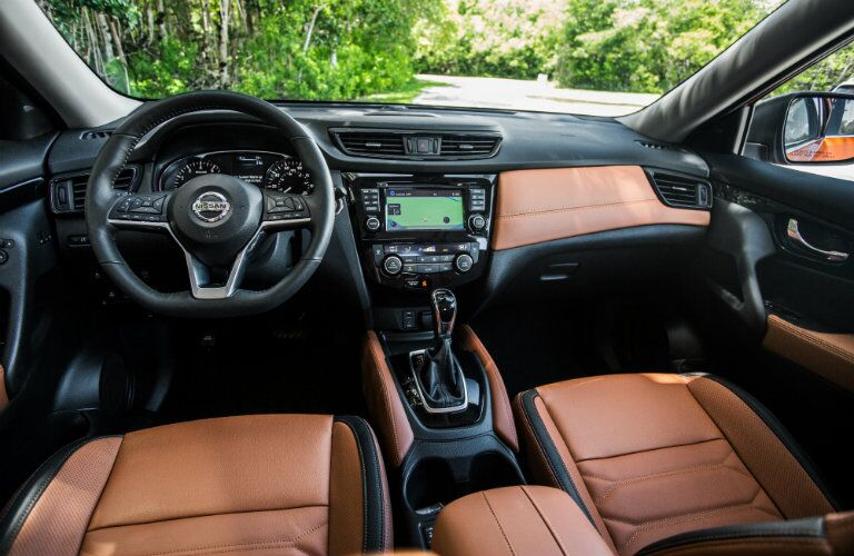 interior leather nissan rogue