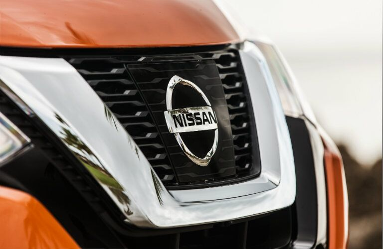 2017 Nissan Rogue Grille