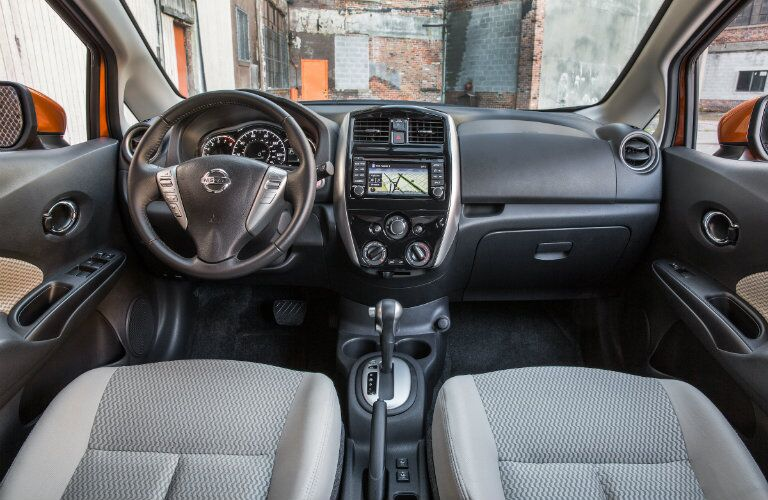 2017 nissan versa note dashboard layout and design