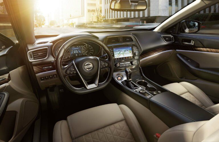 2017 Nissan Maxima SR Midnight Edition Interior