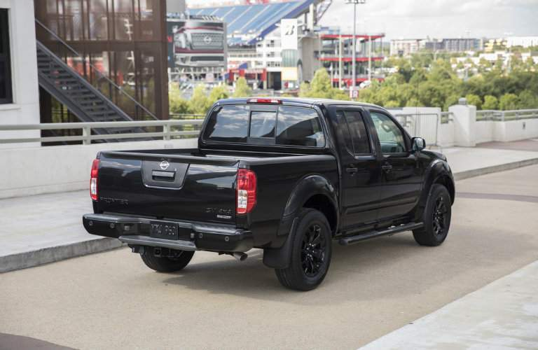 2018 Nissan Frontier Midnight Edition Box and Bed