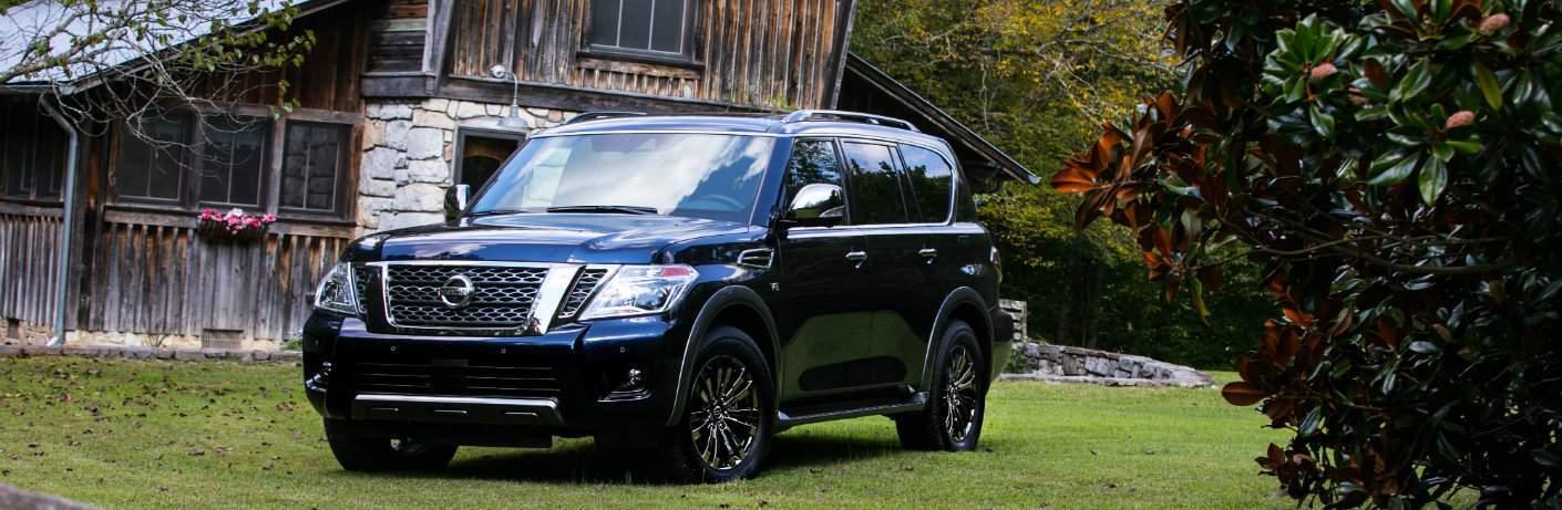 2018 Nissan Armada Platinum Reserve Glendale Heights IL Black Color