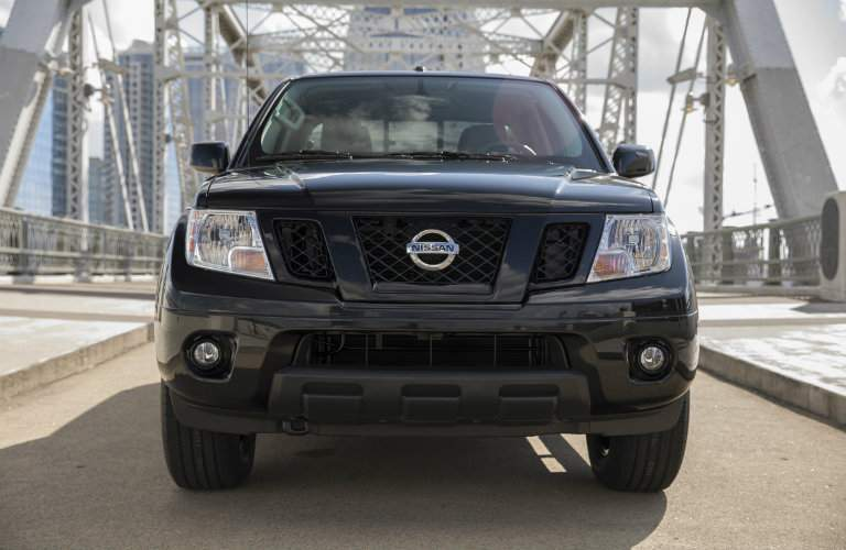 2018 Nissan Frontier Midnight Edition Front End
