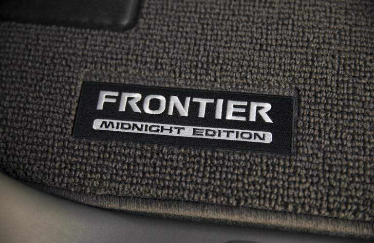 Available 2018 Nissan Frontier Midnight Edition Floormats