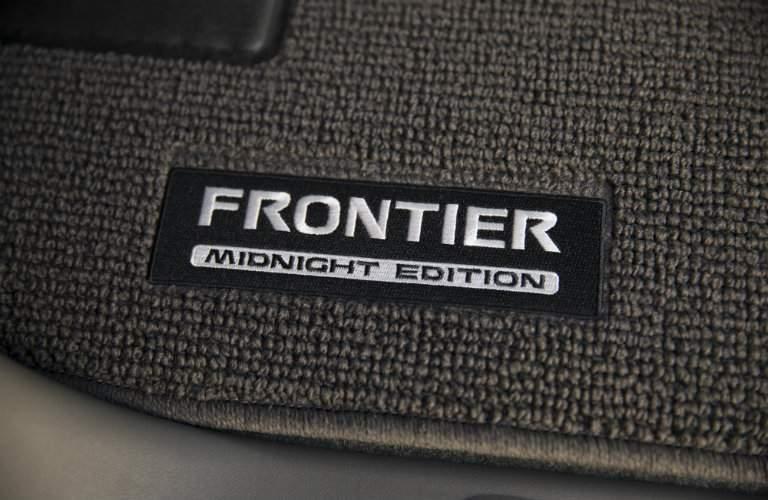 2019 Nissan Frontier midnight mat