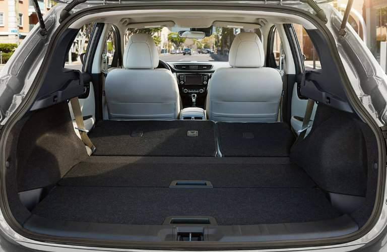 Cargo space 2018 Nissan Rogue Sport