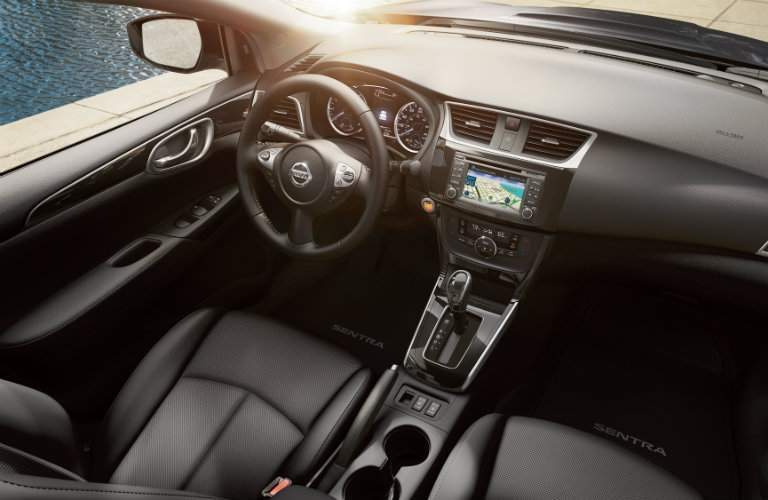 Interior of 2018 Nissan Sentra