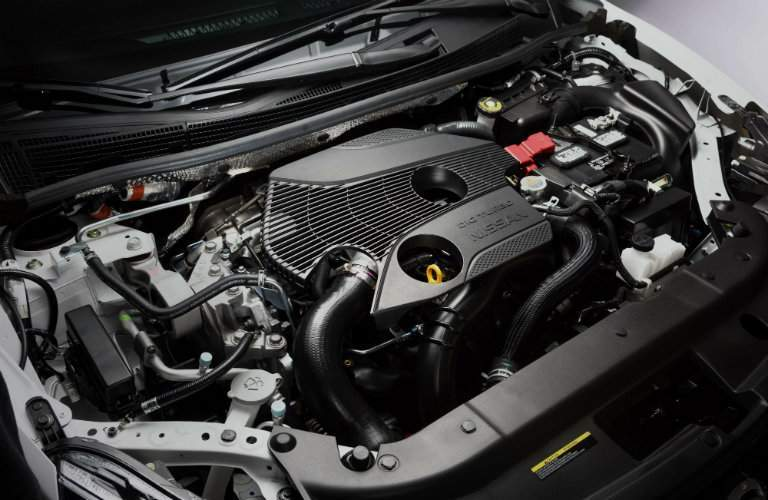 2018 Nissan Sentra Nismo turbocharged engine
