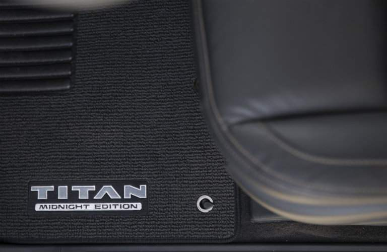 2018 Nissan Titan Midnight Edition Floormats
