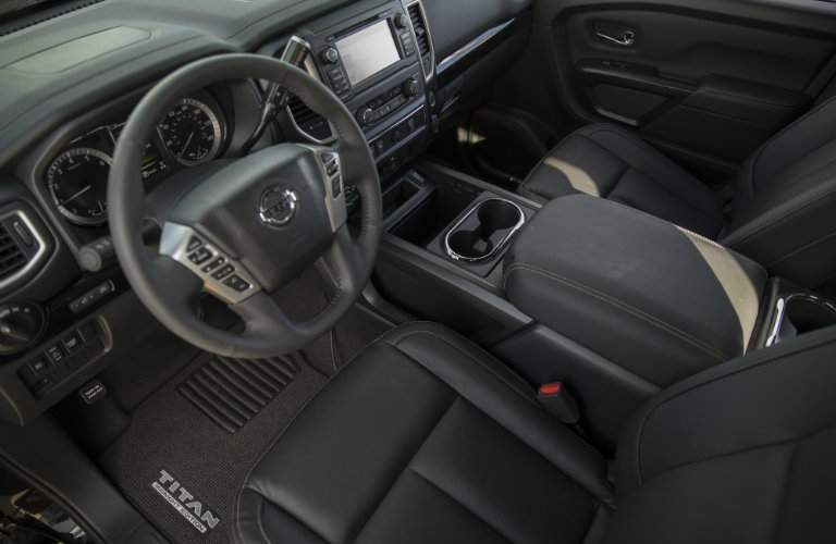 2018 Nissan Titan Midnight Edition Interior
