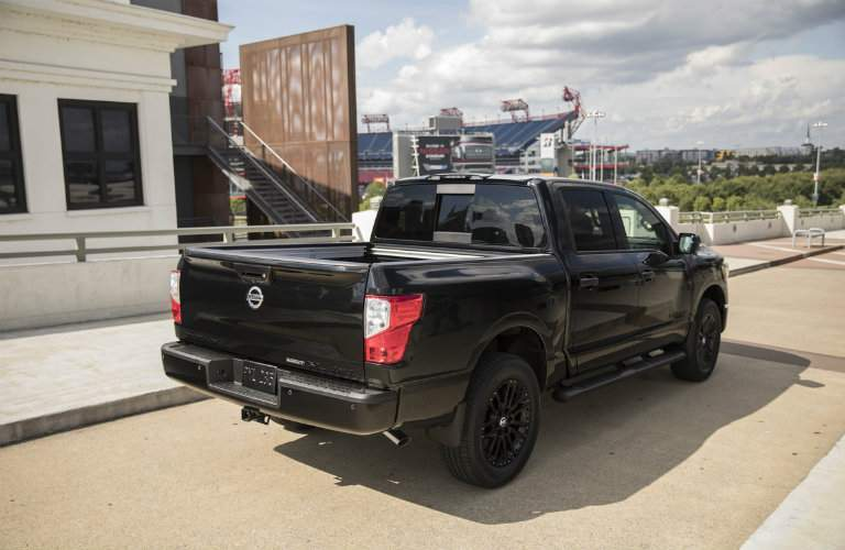 2018 Nissan Titan Midnight Edition Bed
