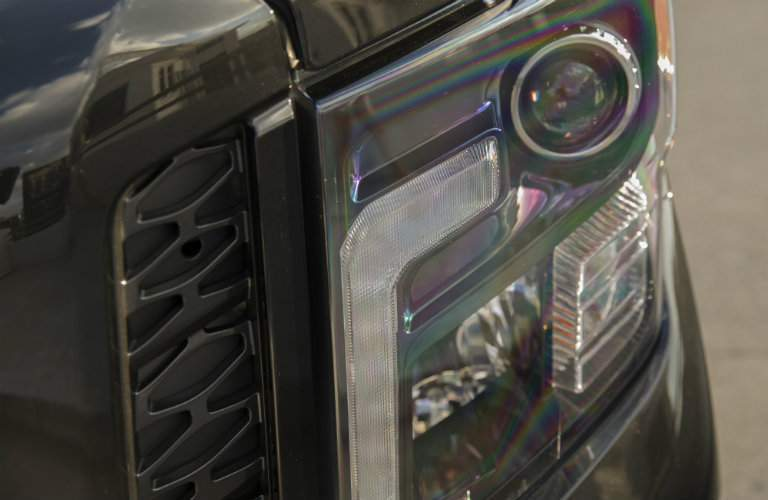 2018 Nissan Titan XD Midnight Edition Headlights