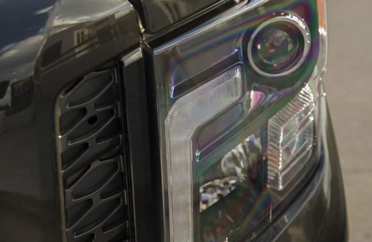 2018 Nissan Titan XD Midnight Edition Headlights