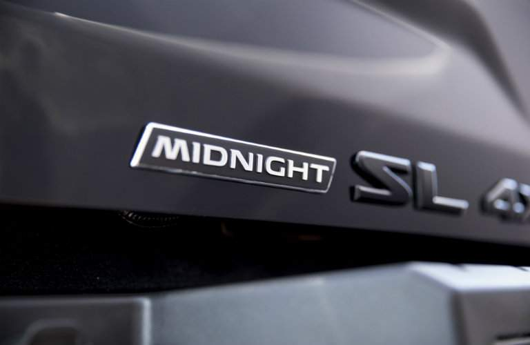 2018 Nissan Titan XD Midnight Edition Badging SL Trim