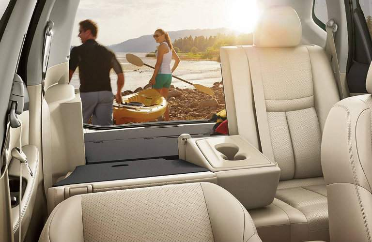 Cargo space 2018 Nissan Rogue