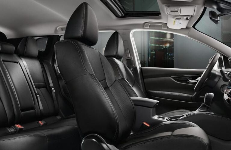 Seating in the 2018.5 Nissan Rogue Sport