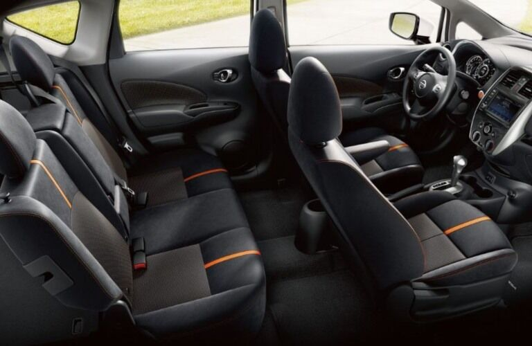 Seats in the 2018.5 Nissan Versa Note