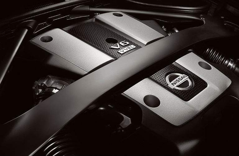 2018 Nissan 370Z Roadster V6 engine