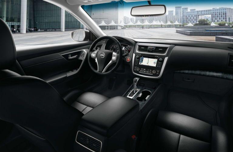 Interior of a 2018 Nissan Altima