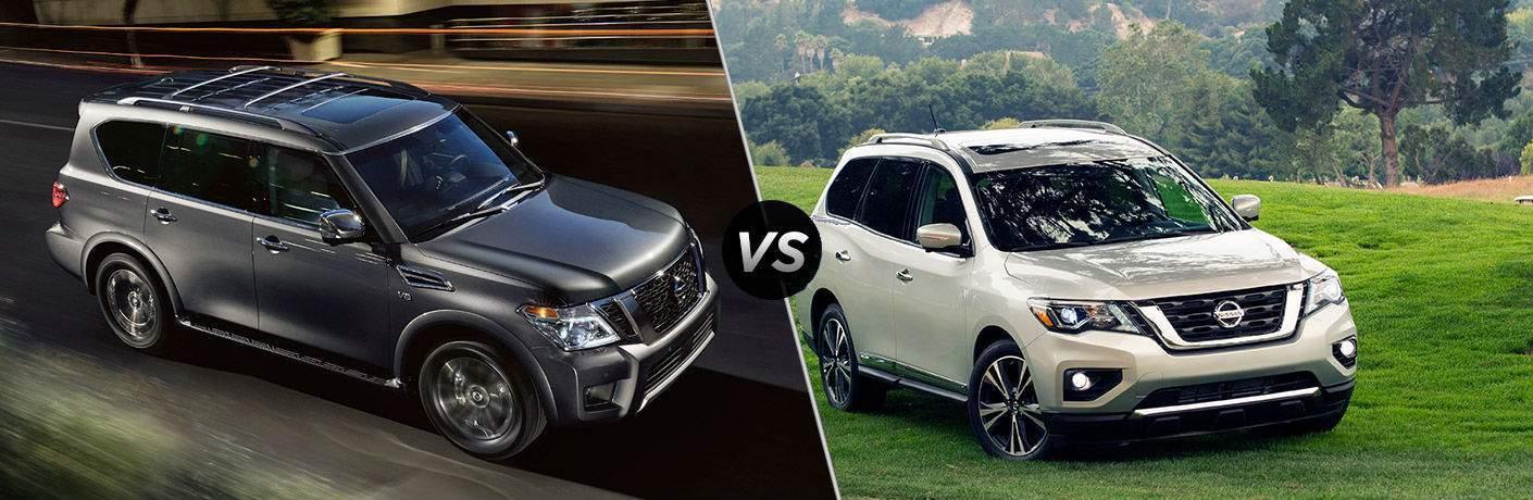 2018 Nissan Armada vs 2018 Nissan Pathfinder