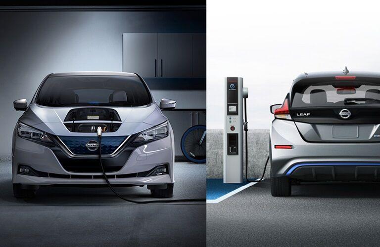 2018 Nissan LEAF models charging