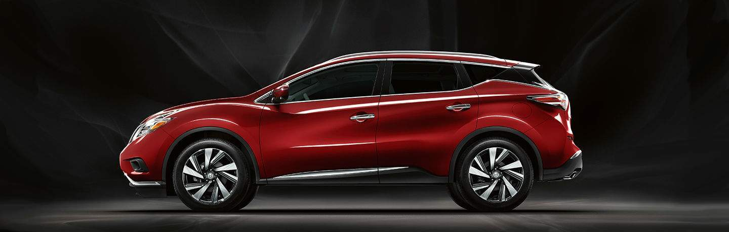 2018 Nissan Murano Red with Black Smokey Background