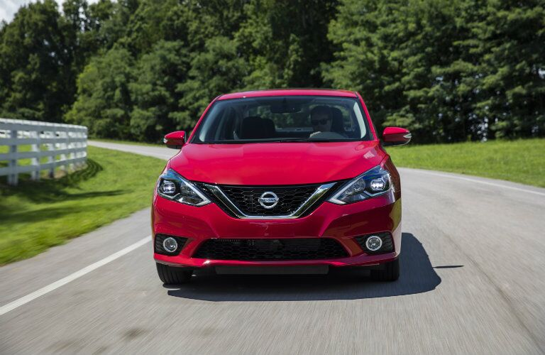 Red 2018 Nissan Sentra SR Turbo