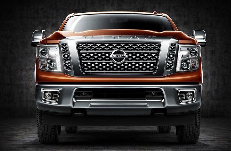 Front view of a 2018 Nissan TITAN XD