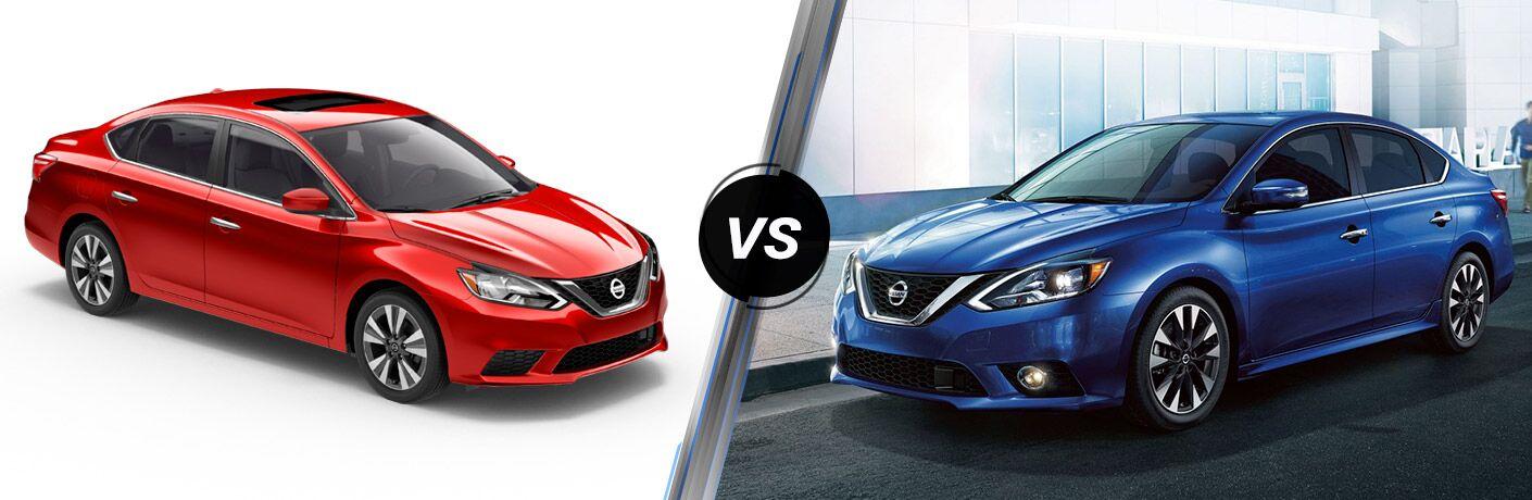 2019 Nissan Sentra vs 2018 Nissan Sentra