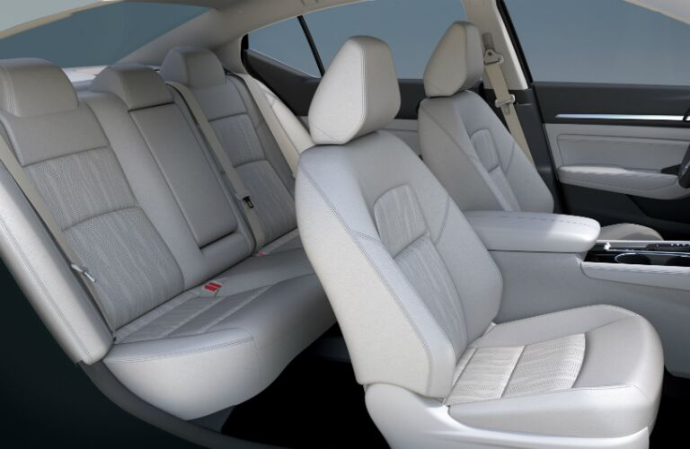 Interior seating of the 2019 Nissan Altima