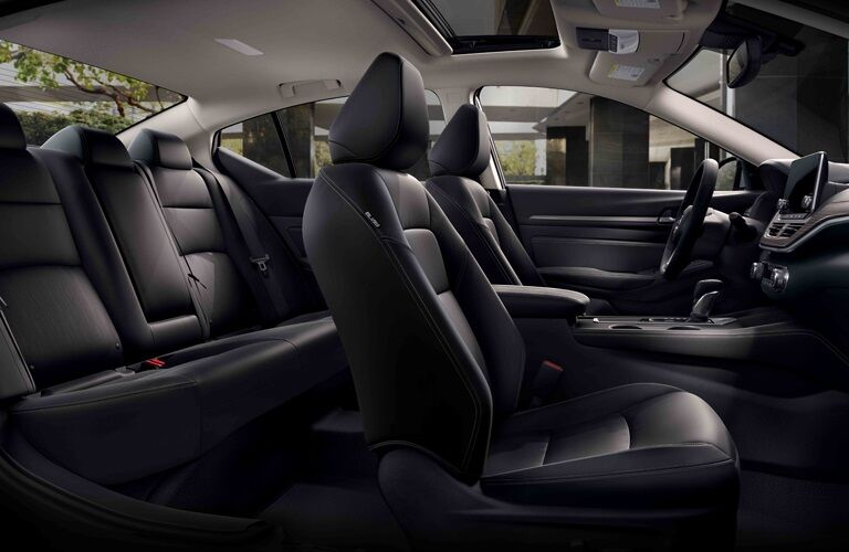 Interior seating in the 2019 Nissan Altima