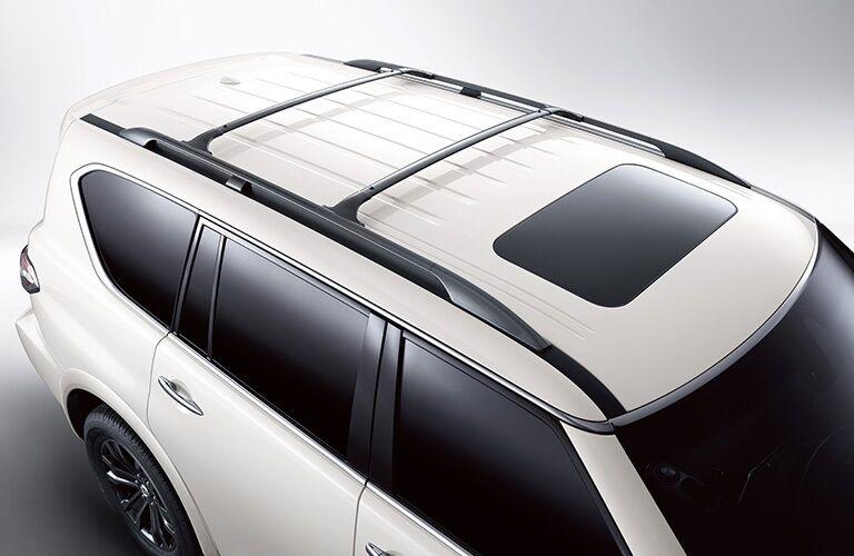 Roof rails on the 2019 Nissan Armada