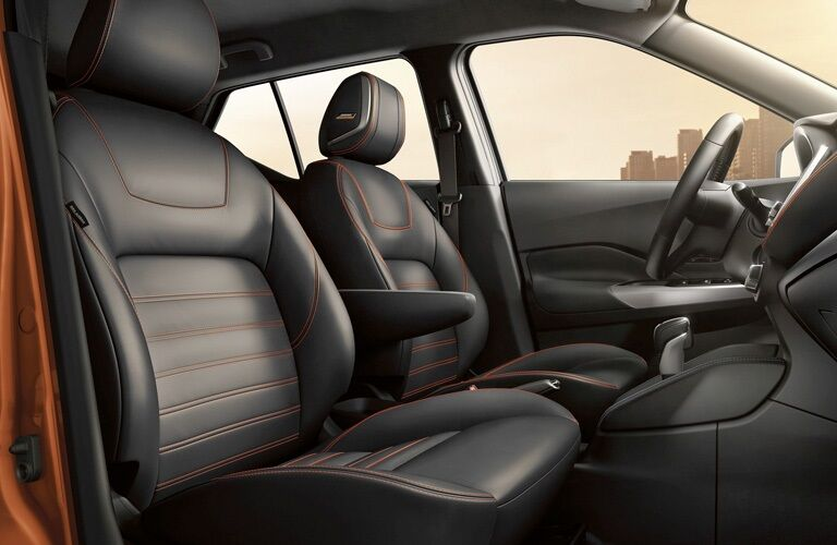 Interior seating in the 2019 Nissan Kicks