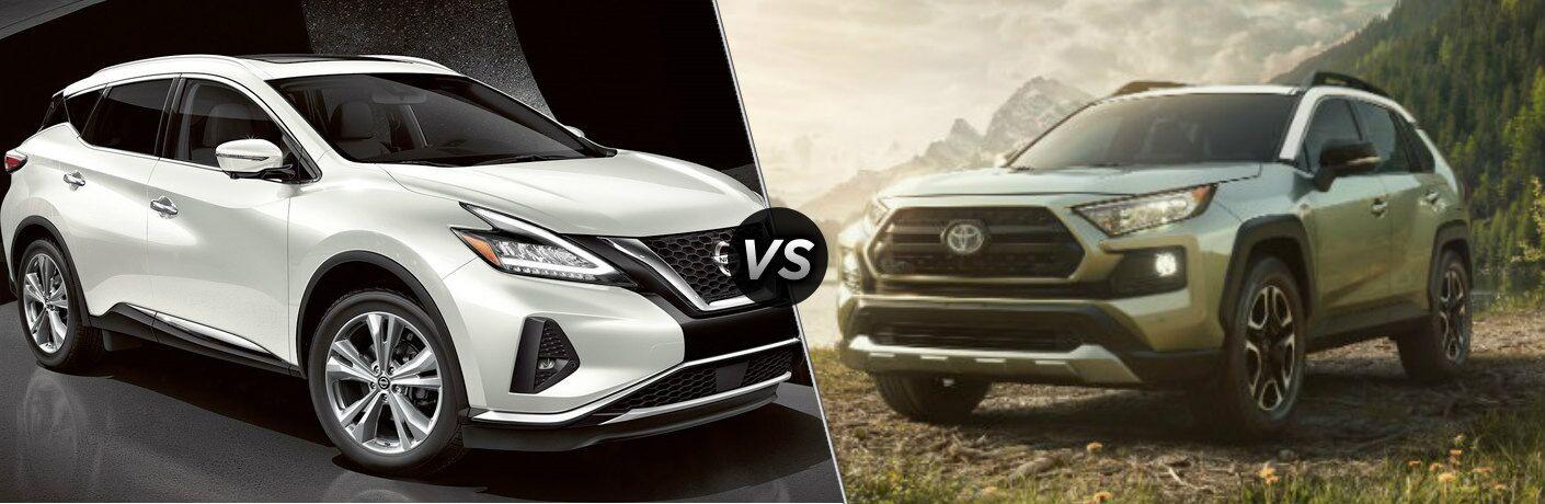 Nissan Rogue Vs Toyota Rav4 >> 2019 Nissan Murano Vs 2019 Toyota Rav4