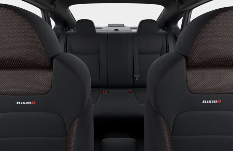 Seating in the 2019 Nissan Sentra NISMO