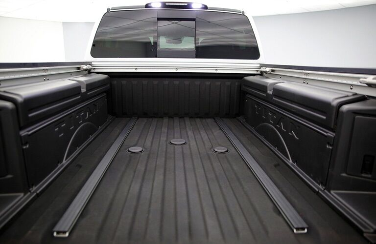 Truck bed of the 2019 Nissan TITAN XD