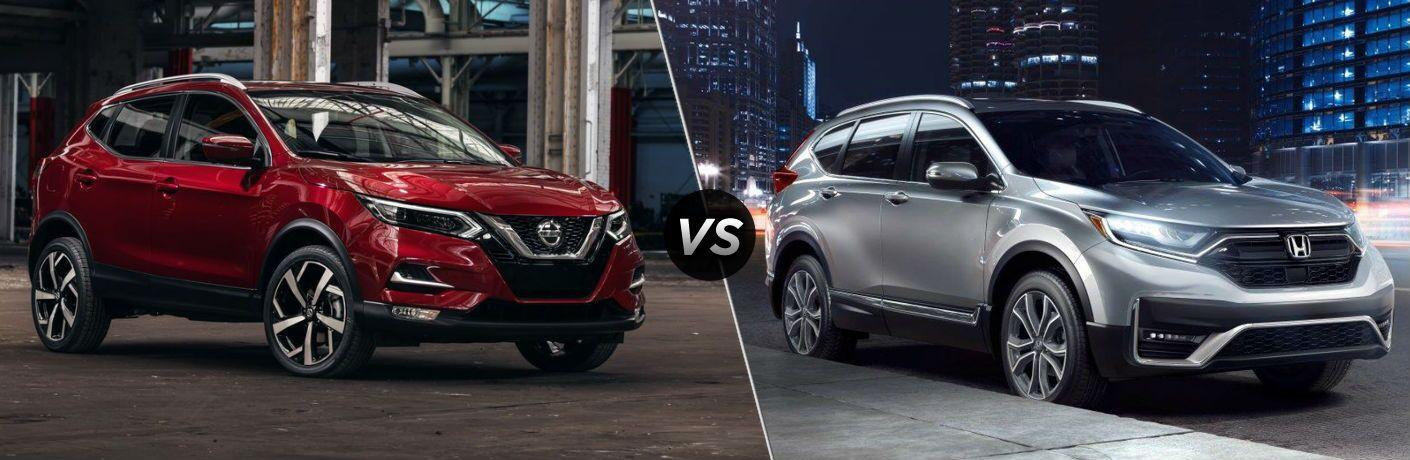 2020 Nissan Rogue Sport vs 2020 Honda HR-V